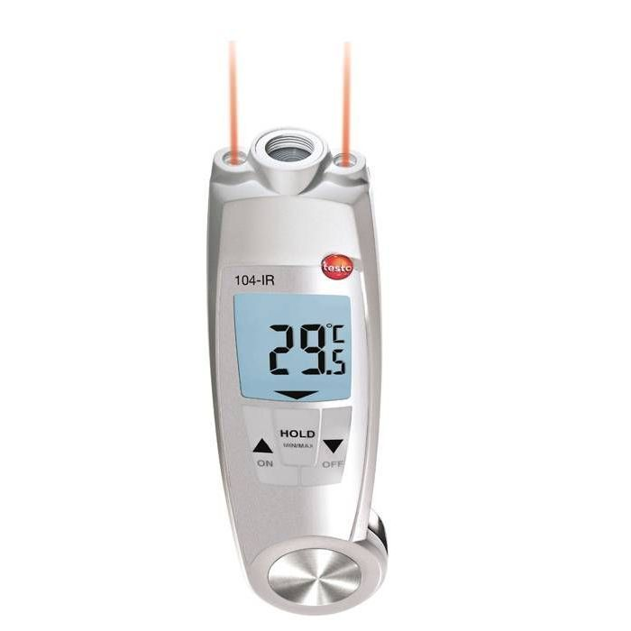 Testo 104-IR-İnfrared ve Temaslı Termometre
