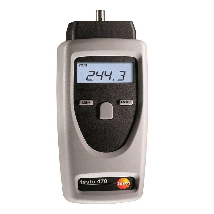 Testo 470 - RPM Ölçüm Cihazı