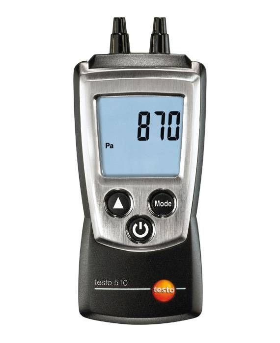 Testo 510 Set - Fark Basınç Ölçüm Cihazı