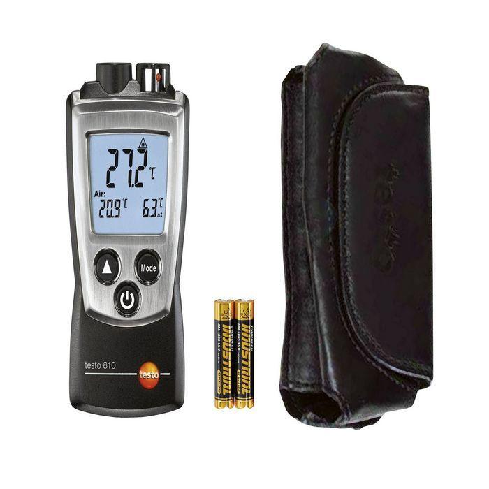 Testo 810-Temassız Sıcaklık Ölçüm Cihazı(2 kanallı)