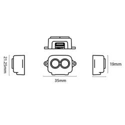 TF-Luna (ToF) Mikro Tek Noktalı Değişen Lidar - Thumbnail