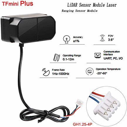 TF mini Artı Lidar Lazer FZ3385 Mesafe Sensörü