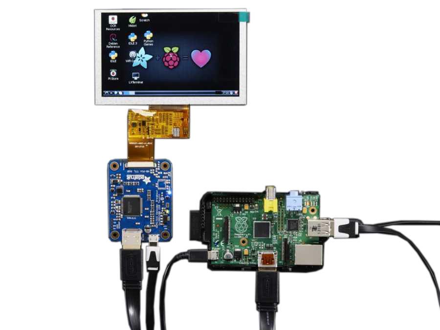 TFP401 HDMI/DVI 40-Pin TTL Dönüştürücü