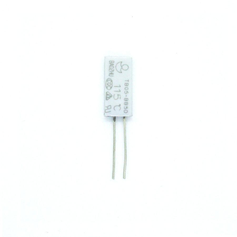 Thermostat 115C 5A 250V 15*7.0*3.5MM 25MM Tel
