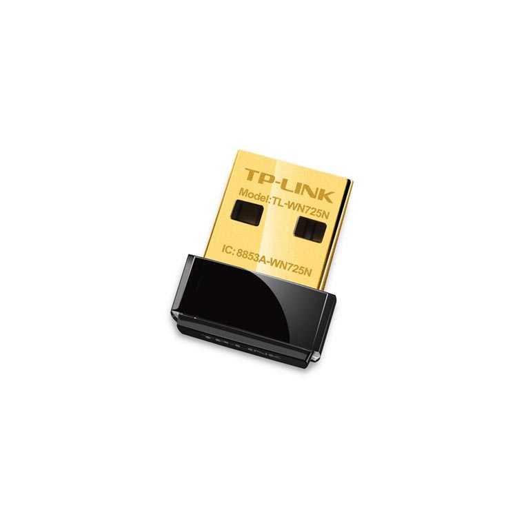 TP-Link TL-WN725N 150Mbps Kablosuz N Nano USB Wifi Adaptör