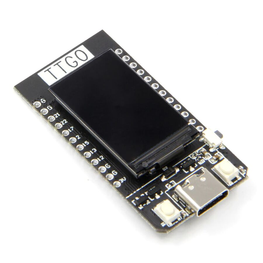 TTGO ESP32 CH340K WiFi Bluetooth Modül Geliştirme Kartı 1.14inc Lcd