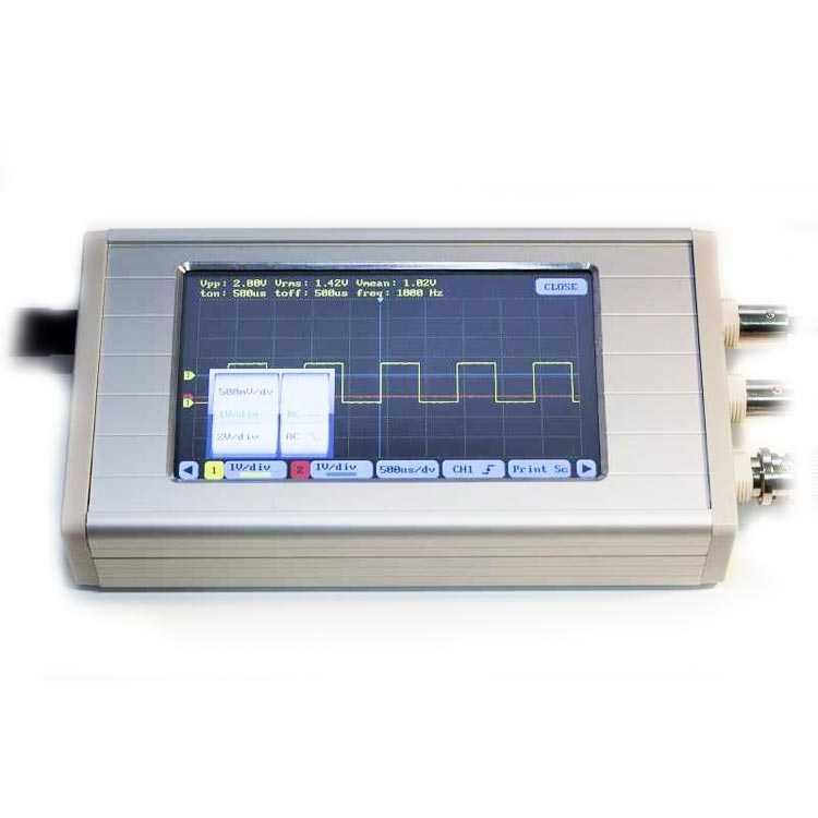 UCE-DSO290 Osiloskop 2 Kanal - 20MHz - 112.5Msps 8-bit - Kutulu