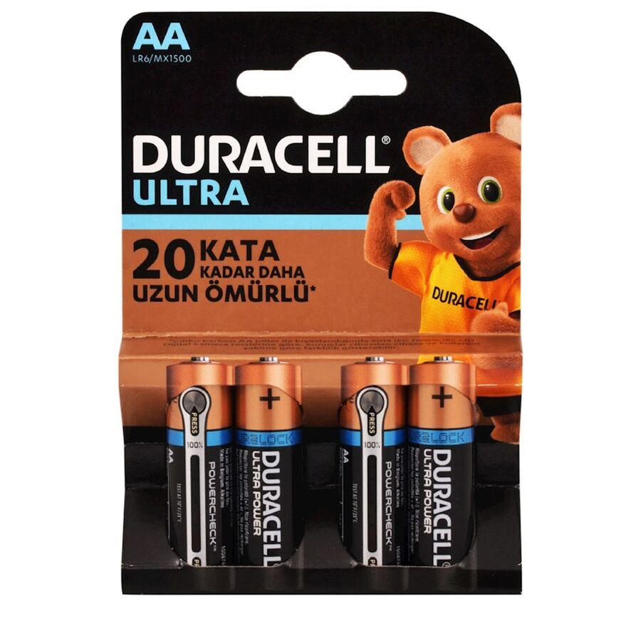Ultra Power Powercheck AA 4'lü Kalem Pil