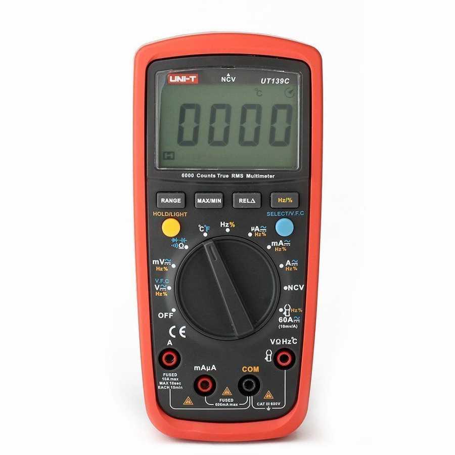 UNI-T UT139C Dijital Multimetre