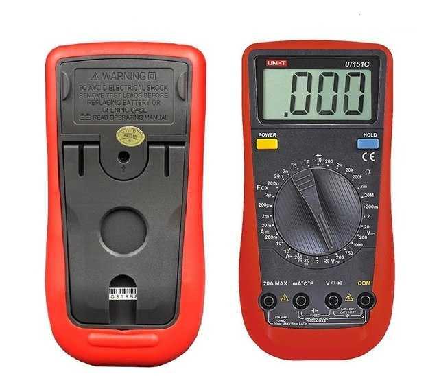 UNI-T UT151C Dijital Multimetre