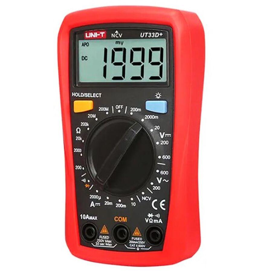 UNI-T UT33D+ Multimetre
