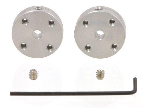 Universal Alüminyum 3mm Şaft Montaj Hubı - M3 Delikli - 2 Adet
