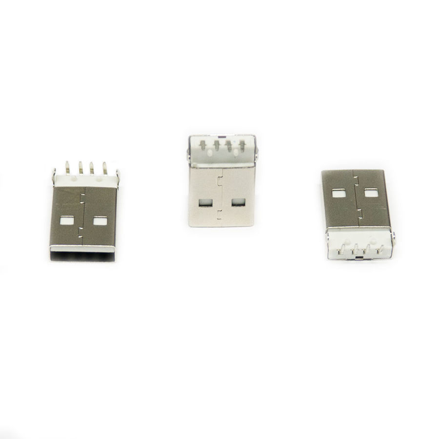 MS 045 USB 2.0 A 90C Erkek Soket
