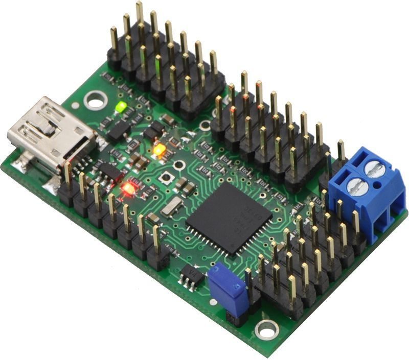 USB Servo Motor Kontrol Kartı (18 Kanal)