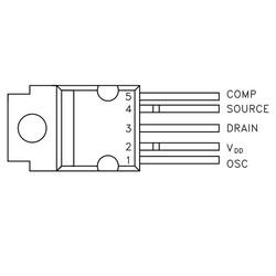 VIPer100A Transistör Pentawatt-5 HV - Thumbnail