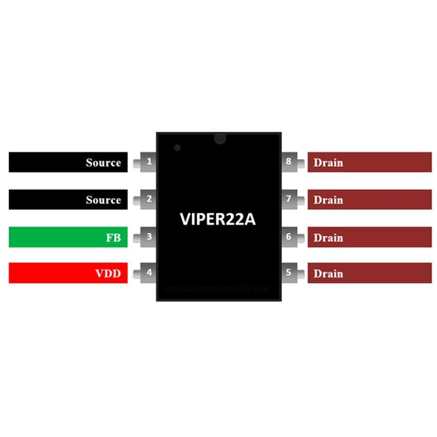 VIPER22A Smps Entegresi