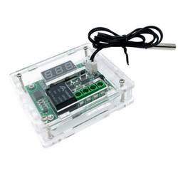 W1209 Dijital Termostat + Şefaf Kutu - Thumbnail
