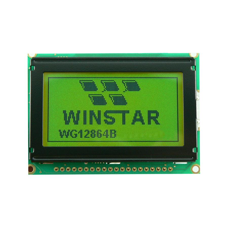 128x64 Grafik Lcd Ekran Yeşil (WG12864B-YYH-V#N)