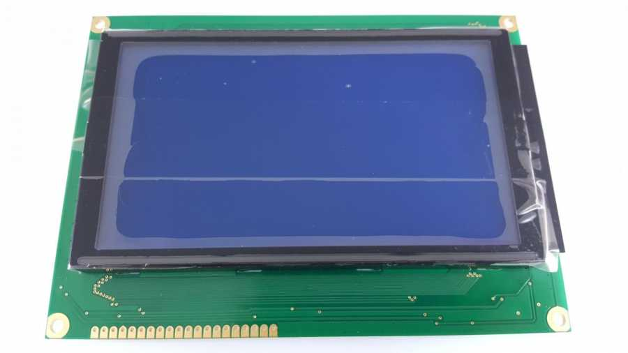 240x128 Grafik Lcd Ekran Mavi - WG240128B-TMI-VZ