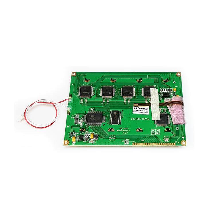 240x128 Dokunmatik Lcd Ekran Mavi - WG240128B-TMI-VZ