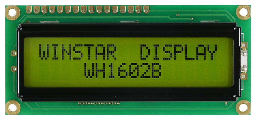2x16 Lcd Ekran Yeşil - WH1602B-YYH-ETK