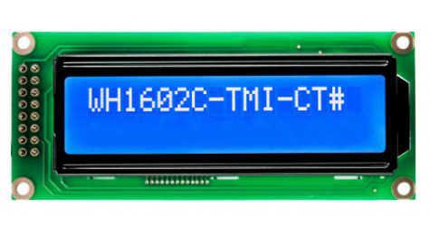 2x16 Lcd Ekran Mavi - WH1602C-TMI-CT