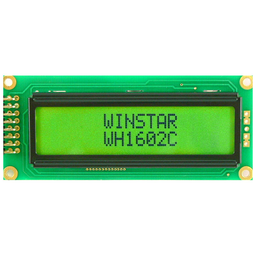 2x16 Lcd Ekran Yeşil - WH1602C-YYH-ETK