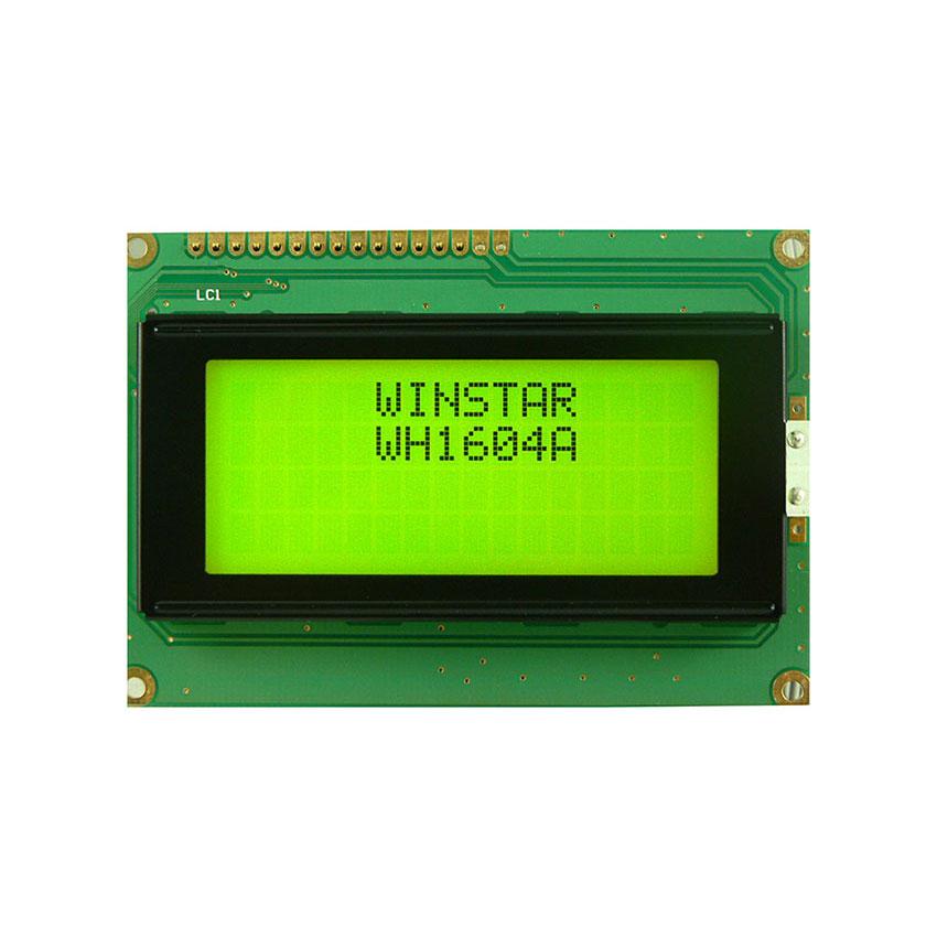 4x16 Grafik Lcd Ekran Yeşil - WH1604A-YYH-ET