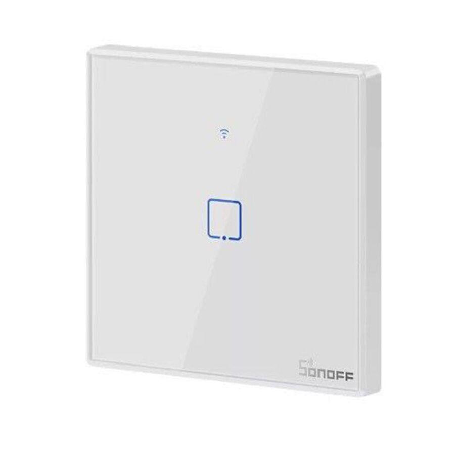 Sonoff T0EU1C 1 Kanallı WiFi / Duvar Tipi RF Akıllı Dokunmatik Işık Anahtarı  Uygun Fiyatıyla Satın Al - Direnc.net®