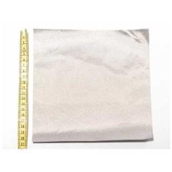 Dokuma İletken Kumaş 20x20cm Kare Gümüş Renk - Thumbnail