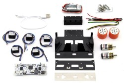 XMotion Mini Sumo Robot Kiti (Montajı Yapılmış) - Thumbnail