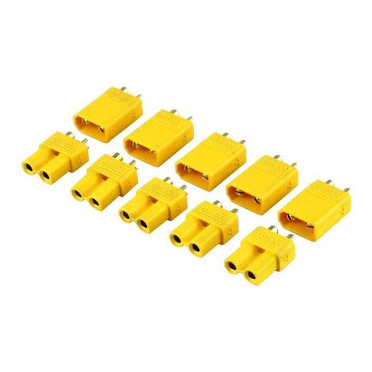 XT30 Plug 30A LiPo Pil Konnektör Takımı