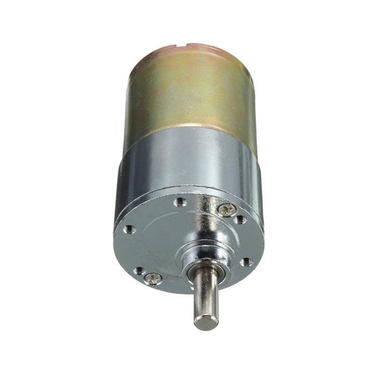 ZYTD520 6V-12V-24V 10 RPM 37mm Redüktörlü DC Motor